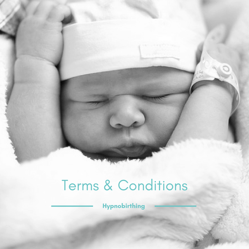 Terms and Conditions at Oxford Hypnobirthing and stephmcgeehypnotherapy.com